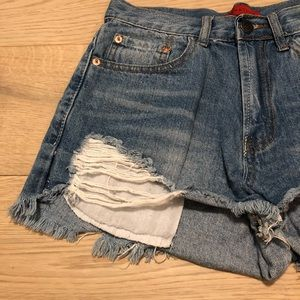 e4b6443797 Brandy Melville Shorts - Signature8 size s/25 jean shorts High waisted